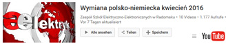 pl2016 projekte youtube